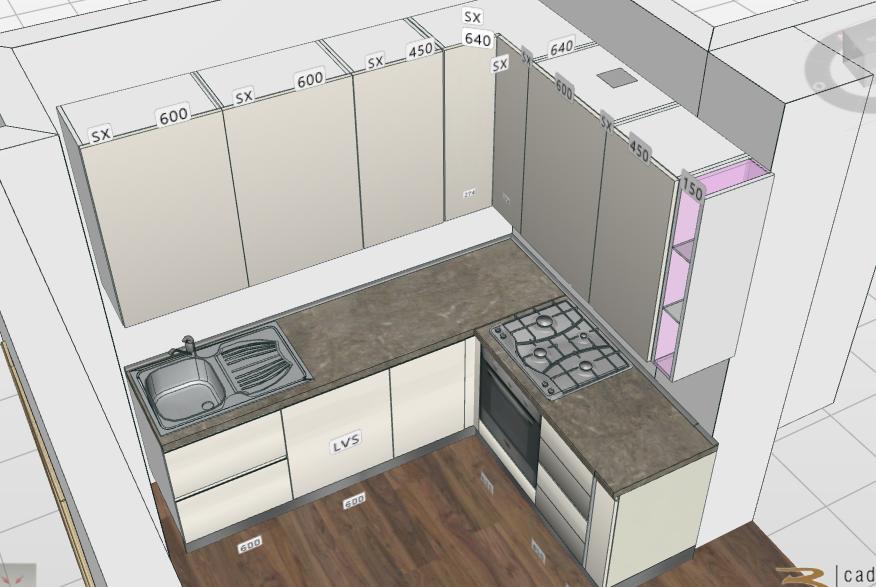 Progettare cucine abitabili in stile moderno - Zeta Concept