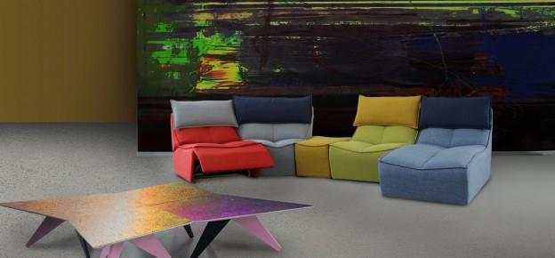 Zeta concept colori e tendenze per dare nuova vita alla tua casa - Divano hip hop calia ...