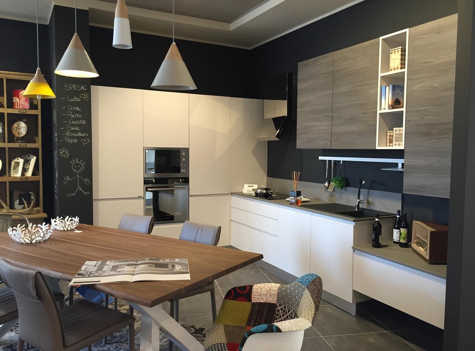 Zeta Concept | Offerta Cucine - Cucina Artre Flo Moderna Laccato ...