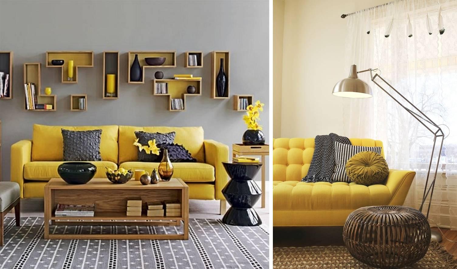 Zeta concept arredare con verde blu o giallo tanti suggerimenti e idee per abbinarli - Camera da letto gialla ...