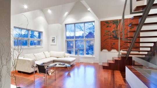 Zeta concept arredare un appartamento su due piani 3 for Casa a due piani
