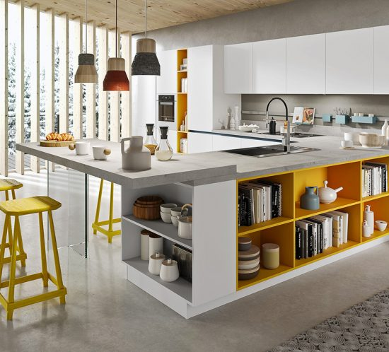 Zeta concept arredamento cucine torino for Arredamento cucine torino