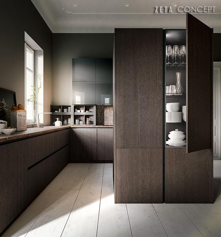 Zeta concept logica cucina valdesign - Cucine valdesign ...