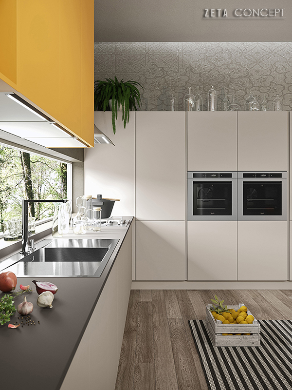 Zeta Concept  Sikki – Cucina Ar-Tre
