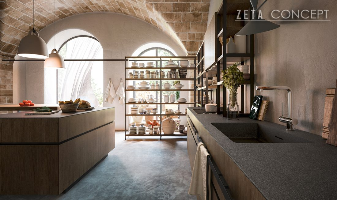 zeta concept | soho ? cucina valdesign - Cucine Valdesign