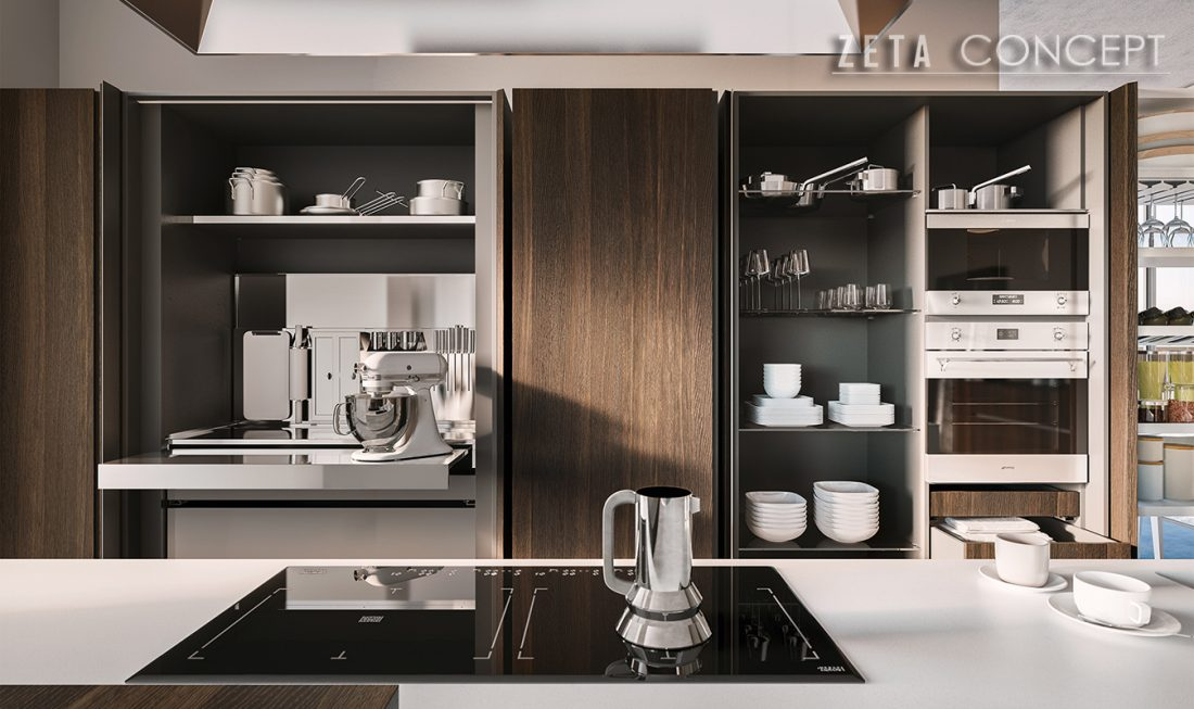 Zeta concept soho cucina valdesign - Cucine valdesign ...